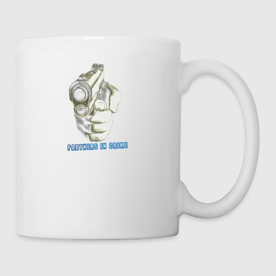 Partner s in crime black Funny - Coffee/Tea Mug