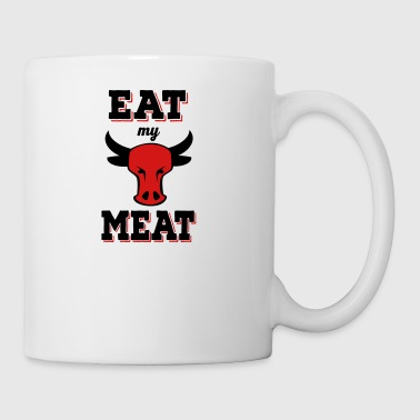 eat my meat - Coffee/Tea Mug