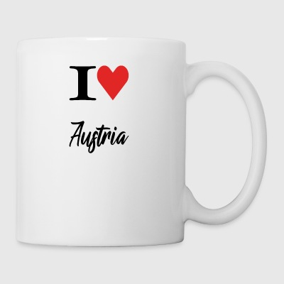 I Love Austria - Coffee/Tea Mug