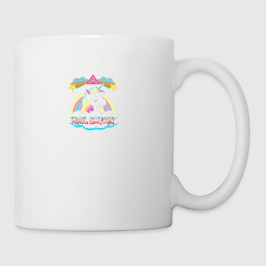 Unicorn hail satan death metal rainbown - Coffee/Tea Mug