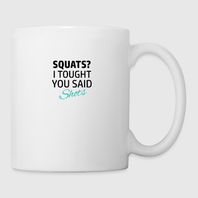 Funny workout designs - Coffee/Tea Mug
