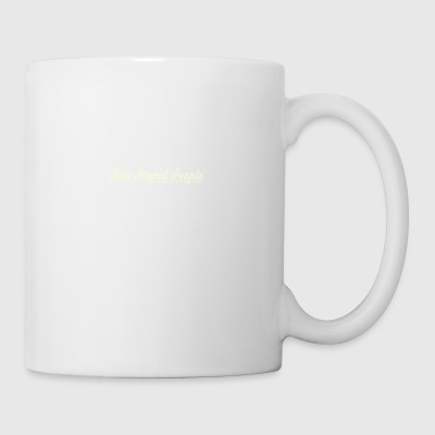 Ban Stupid People Not Dogs - Coffee/Tea Mug