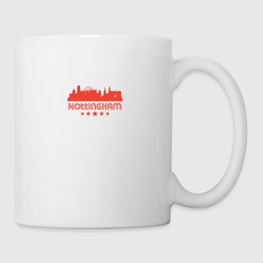 Retro Nottingham Skyline - Coffee/Tea Mug