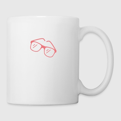 Red Sunglasses - Coffee/Tea Mug