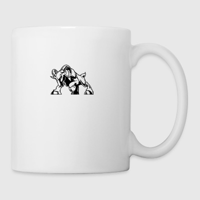 angry_attacking_coat_black - Coffee/Tea Mug