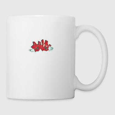 pjrit_graffiti_red - Coffee/Tea Mug