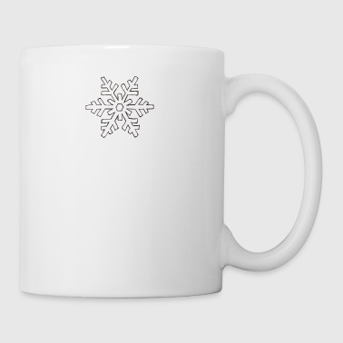 snowflake 1 - Coffee/Tea Mug