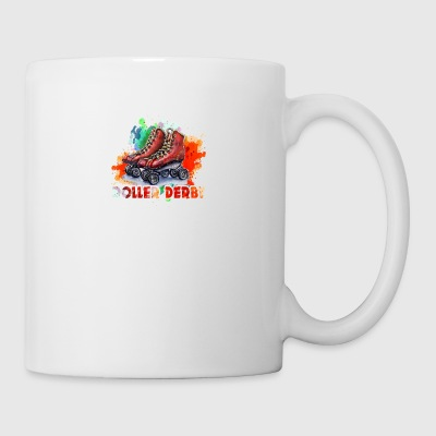 ROLLER DERBY TEE SHIRT - Coffee/Tea Mug