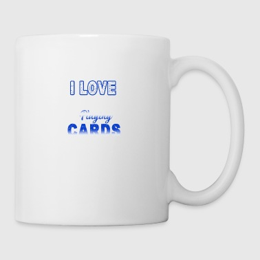 I Love Playing Cards Shirt - Coffee/Tea Mug