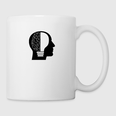 Brain with Light Bulb - Coffee/Tea Mug