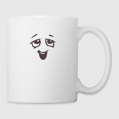 Relaxed face - Emotional face - Coffee/Tea Mug