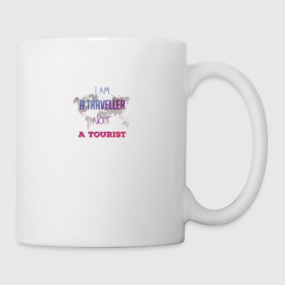 I am a traveller not a tourist - Coffee/Tea Mug