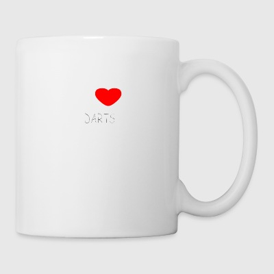 I LOVE DARTS - Coffee/Tea Mug