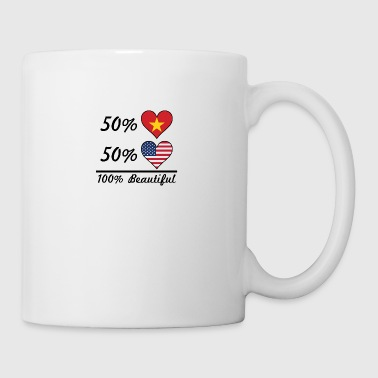 50% Vietnamese 50% American 100% Beautiful - Coffee/Tea Mug