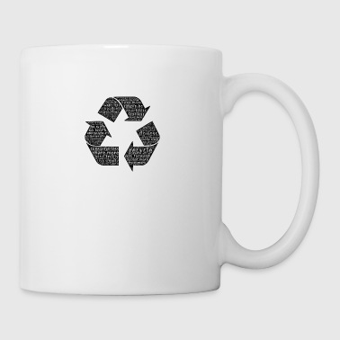 Recycling - Typography - Coffee/Tea Mug