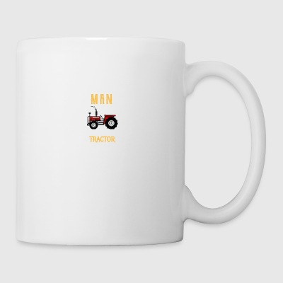Never underestimate a man his tractor! - Coffee/Tea Mug
