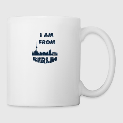 Berlin I am from - Coffee/Tea Mug