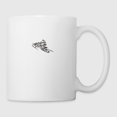 sled bike - Coffee/Tea Mug