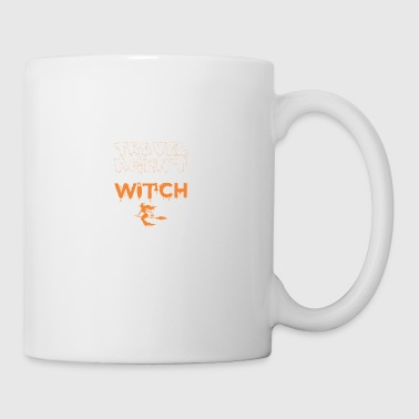 Screw Being Travel Agent Wanna Witch Halloween - Coffee/Tea Mug