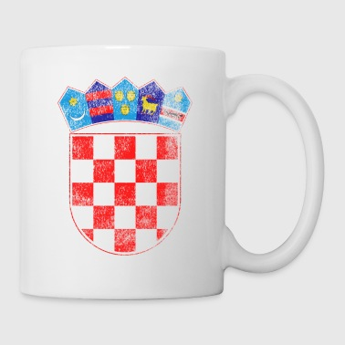 Croatian Coat of Arms Croatia Symbol - Coffee/Tea Mug