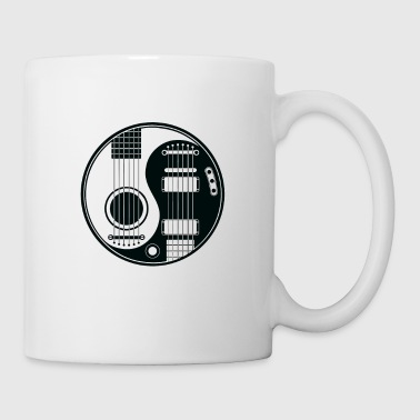 Guitar Yin Yang shirt - Best gift for Guitar Lover - Coffee/Tea Mug