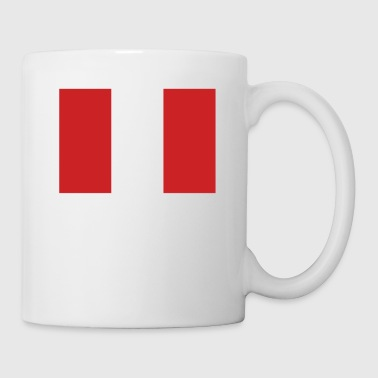 Flag of Peru Cool Peruvian Flag - Coffee/Tea Mug