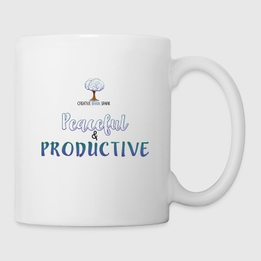 Peaceful & Productive Mug - Coffee/Tea Mug