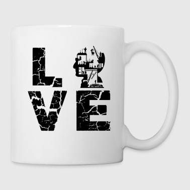 Civil Engineer Love Mug - Coffee/Tea Mug