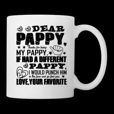 Dear Pappy Love Mug - Coffee/Tea Mug