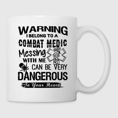 Belong To A Combat Medic Mug - Coffee/Tea Mug