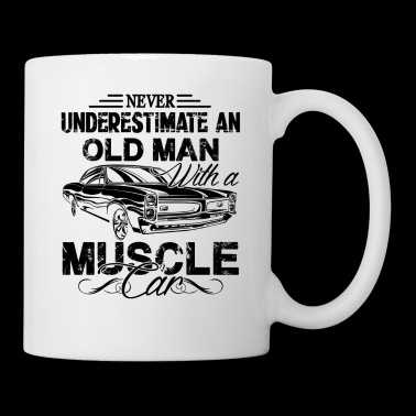 Old Man Muscle Car Mug - Coffee/Tea Mug