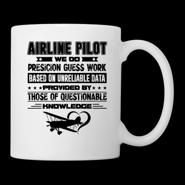 Airline Pilot Precision Guess Work Mug - Coffee/Tea Mug