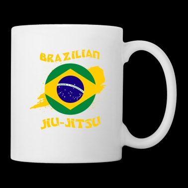 Brazilian Jiu Jitsu BJJ Grappling Brasil Sports - Coffee/Tea Mug