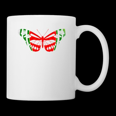 Butterfly Watermelon Summer Fruit Glow Party Funny - Coffee/Tea Mug
