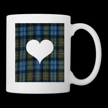 Heart for Tatar Day am and proud scots - Coffee/Tea Mug
