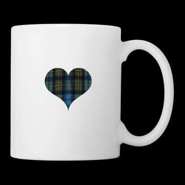 It s In My DNA for the Proud Scot heart Plaid Shir - Coffee/Tea Mug