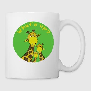 Giraffe What`s up? - Coffee/Tea Mug