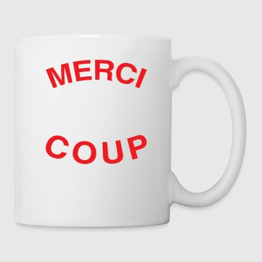 Merci Beaucoup Thank You Very Much French Language - Coffee/Tea Mug