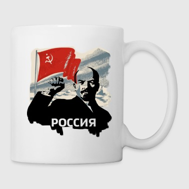 lenin russia revolution udssr communist putin mosc - Coffee/Tea Mug
