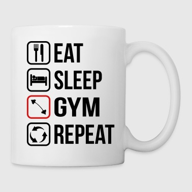 Eat Sleep Gym Repeat - Coffee/Tea Mug