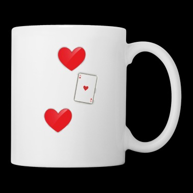 I Love This Game Poker Hearts Gambling - Coffee/Tea Mug