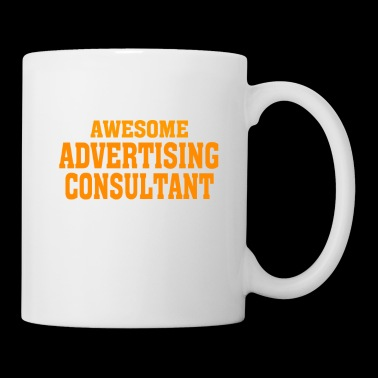 This is what an awesome ADVERTISING CONSULTANT lo - Coffee/Tea Mug