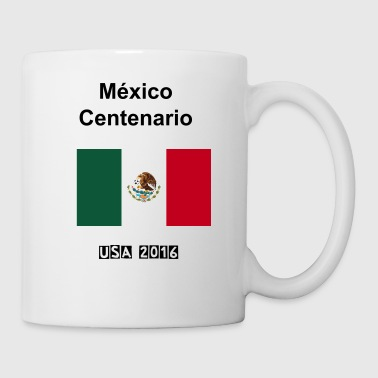Bandera Mexicana de Futbol - Coffee/Tea Mug
