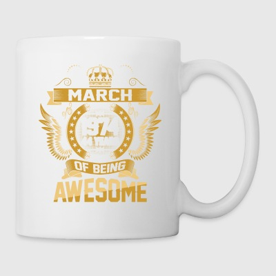March 1974 44 Years Of Being Awesome - Coffee/Tea Mug