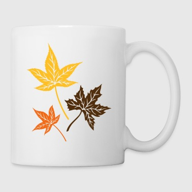 Leaves from the maple, Indian summer, Canada. - Coffee/Tea Mug