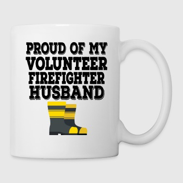 Volunteer Firefighter Husband - Coffee/Tea Mug