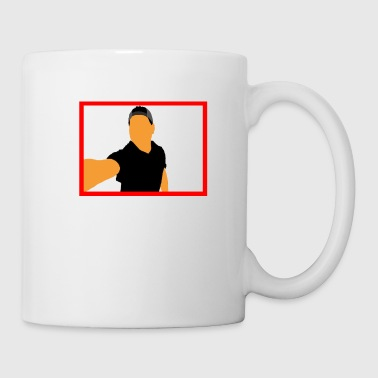 Red Frame - Coffee/Tea Mug