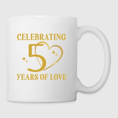 50th Wedding Anniversary Golden - Coffee/Tea Mug