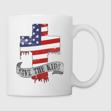 Save the kids now, not the guns. Gun control now - Coffee/Tea Mug