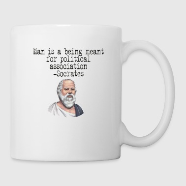 Man is a Being Meant for Political Association - Coffee/Tea Mug
